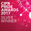 CIPR Pride Awards 2017 Silver Winner Logo