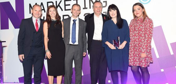 Northern Marketing Award winners