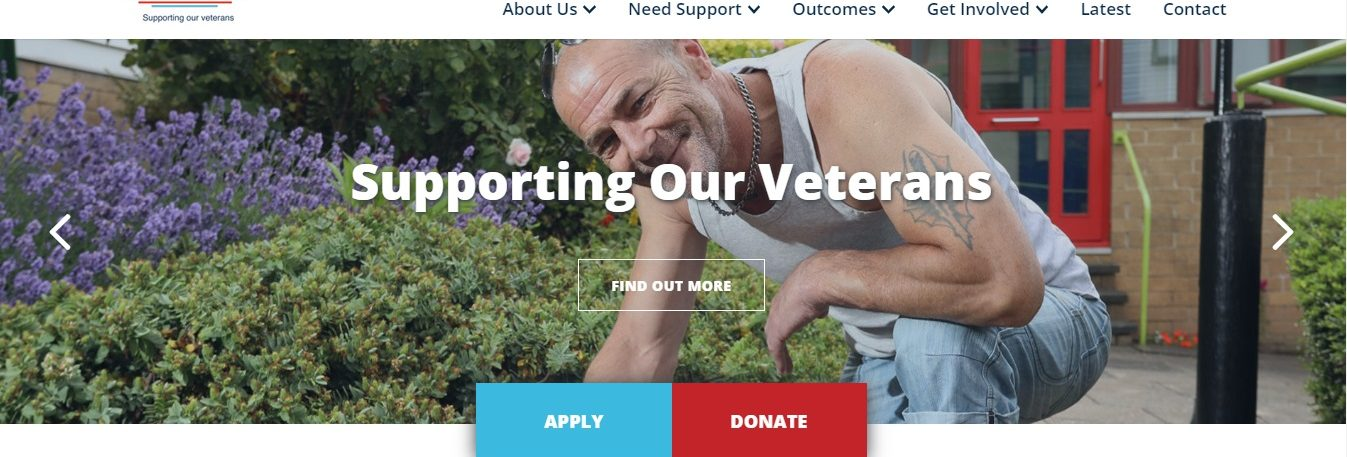 Launchpad – New website for national veterans' charity