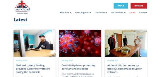 Launchpad new website latest